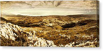 End Of The Earth Canvas Print by Jorgo Photography - Wall Art Gallery