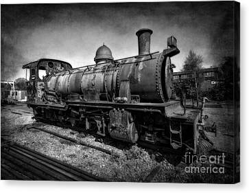 End Of The Line V2 Canvas Print by Adrian Evans