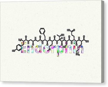 Endorphin Canvas Print by Anastasiya Malakhova