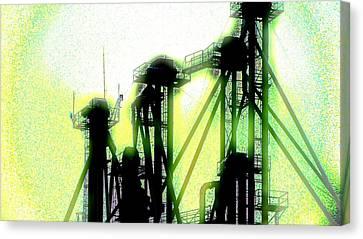 Energize Field Canvas Print by Cyryn Fyrcyd