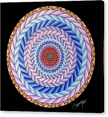 Energy In Movement Canvas Print by Marcia Lupo
