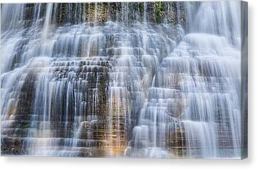 Lower Falls Cascade #1 Canvas Print by Stephen Stookey