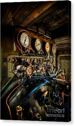 Engine Room Canvas Print by Adrian Evans