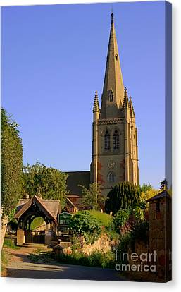 English Country Church Canvas Print by Chris Smith
