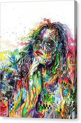 Enigma Canvas Print by Callie Fink