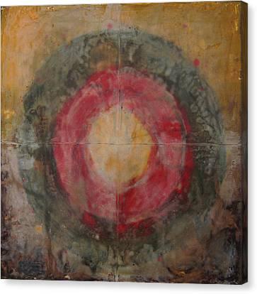 Enshrine - Mindfulness Canvas Print by Janelle Schneider