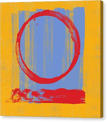 Enso Canvas Print by Julie Niemela
