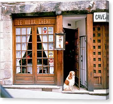 Entrance Paris France Canvas Print by Panoramic Images