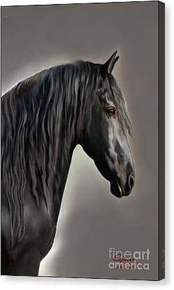 Equus Canvas Print by Corey Ford