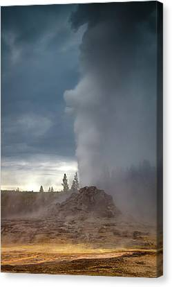 Eruption Canvas Print by Edgars Erglis