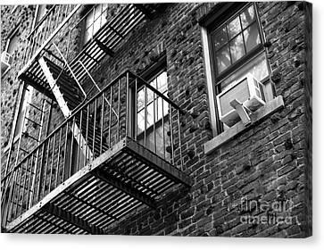 Escape Angles Canvas Print by John Rizzuto