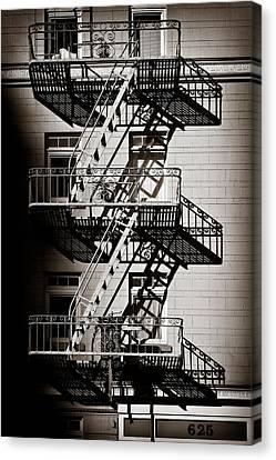 Escape Canvas Print by Dave Bowman
