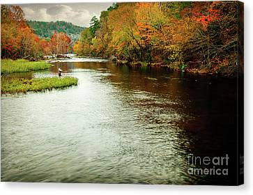 Escape To Beaver's Bend Canvas Print by Tamyra Ayles