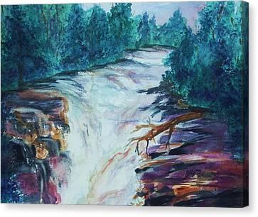 Esopus Creek Canvas Print by Ellen Levinson