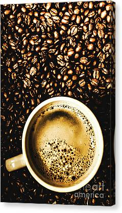 Espresso Roast Canvas Print by Jorgo Photography - Wall Art Gallery