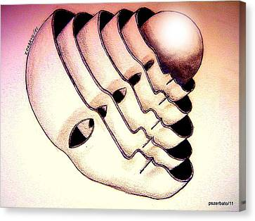 Essence Canvas Print by Paulo Zerbato