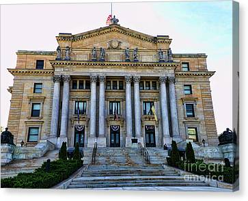 Essex Courthouse Canvas Print by Paul Ward