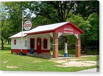 Esso Station Canvas Print by Greg Joens