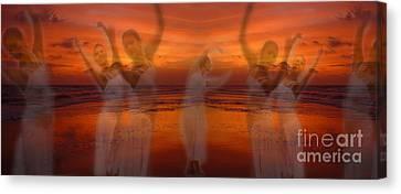 Eternal Dance Canvas Print by Jeff Breiman