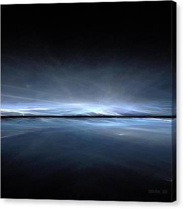 Eternal Ice Canvas Print by Stefan Kuhn