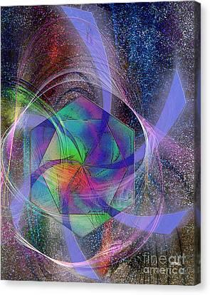 Eternal Reactions Canvas Print by John Robert Beck