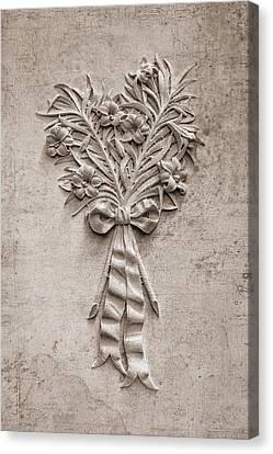 Eternal Lilies Canvas Print by Tom Mc Nemar