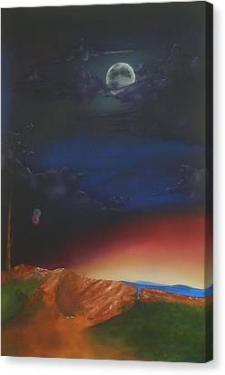 Eternity Canvas Print by Richard    J Thorpe