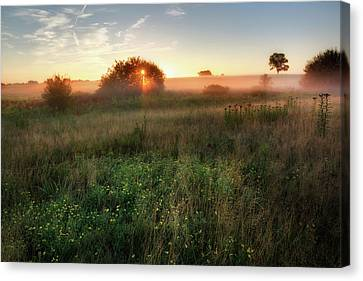Ethereal Sunrise Canvas Print by Bill Wakeley