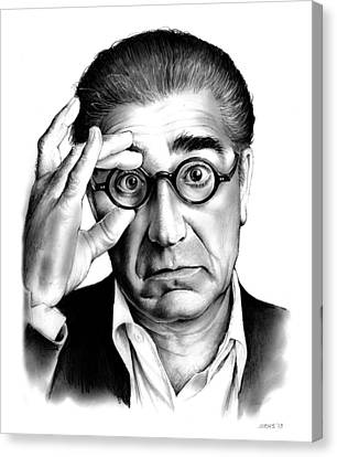 Eugene Levy Canvas Print by Greg Joens