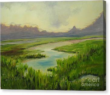 Eureka Refuge Canvas Print by Patricia Kanzler