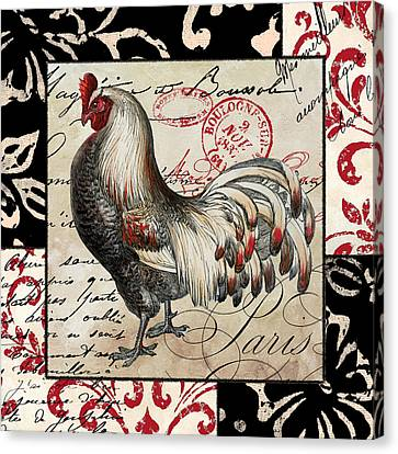 Europa Rooster I Canvas Print by Mindy Sommers