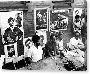 Ev1817 - Black Panther Party Press Canvas Print by Everett