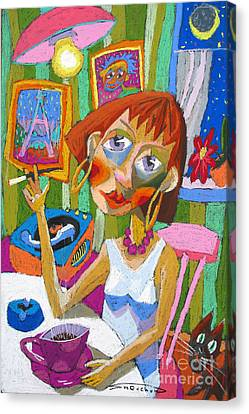 Evening Dream Canvas Print by Yuriy  Shevchuk