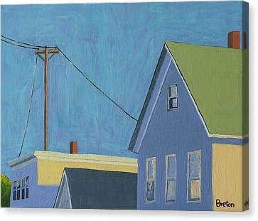 Evening Canvas Print by Laurie Breton