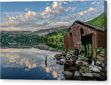 Evening Light Canvas Print by Adrian Evans