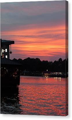 Evening Mellow Canvas Print by Suzanne Gaff