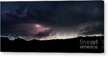 Evening Storm 2 Canvas Print by Terril Heilman