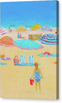 Every Summer Has A Story Canvas Print by Jan Matson