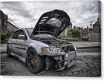 Evo_silver2004 Canvas Print by Michael Rankin