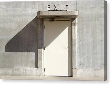 Exit Canvas Print by Mike McGlothlen