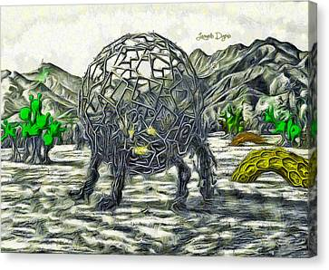 Exotic World - Da Canvas Print by Leonardo Digenio