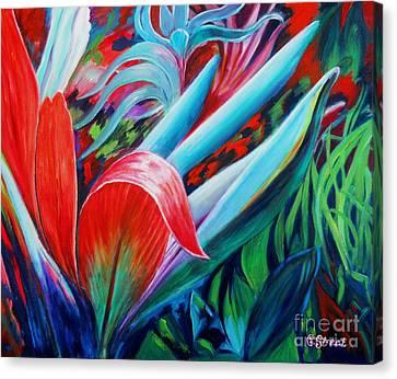 Exotica Canvas Print by Caroline Street