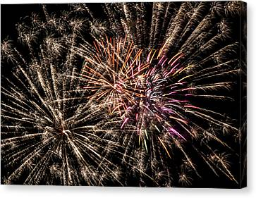Exploding All Over Canvas Print by Marnie Patchett