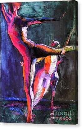 Eye To Eye I Canvas Print by Ann Radley