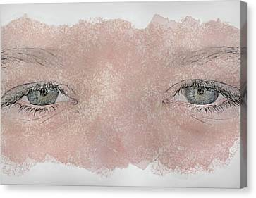 Eyes Of Youth Canvas Print by Randy Steele