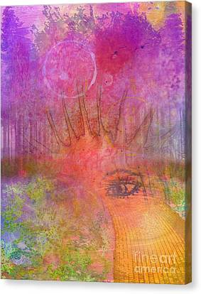 Eyes To The Soul Canvas Print by Desiree Paquette