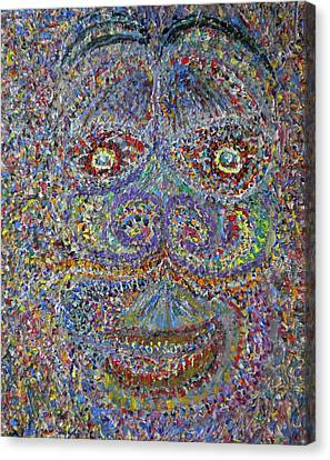 Face 2 Canvas Print by Dylan Chambers
