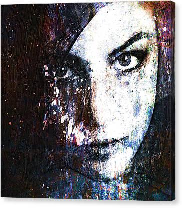 Face In A Dream Canvas Print by Marian Voicu