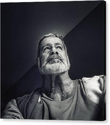 Facing The Light Canvas Print by Piet Flour