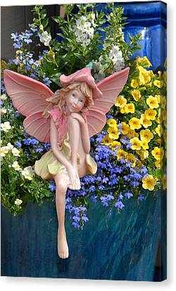 Fairy 86 Canvas Print by Joyce StJames